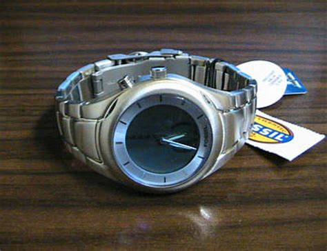 Fossil Bigtic watch. men's model. 50 meter WR.