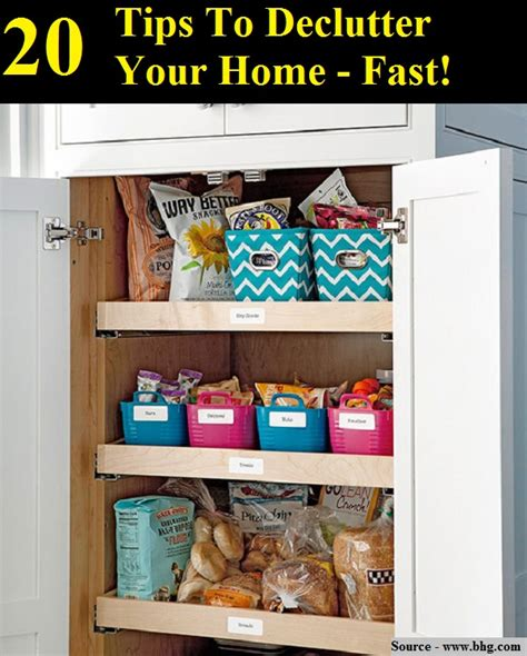 how to declutter your room fast 20 tips to declutter your home fast home and tips