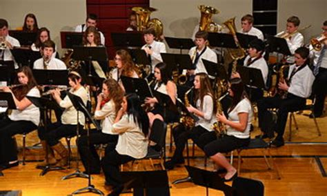 wind section orchestra all catholic high school honor band concert