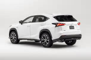 Lexus Crossover 2015 2015 Lexus Nx 200t F Sport Rear Three Quarters 320918