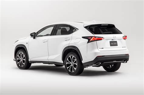 lexus sport 2015 2015 lexus nx 200t f sport rear three quarters photo 4