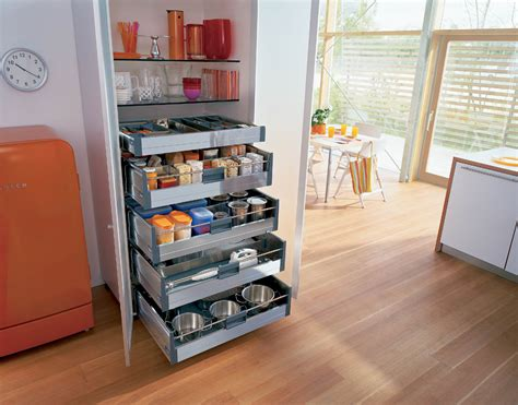 designed to fit in blum kitchen drawers 15ltr bin for general waste 7ltr bin for compost waste 7ltr bin for food waste and 2 convenient pantry inner drawers easy access kitchens