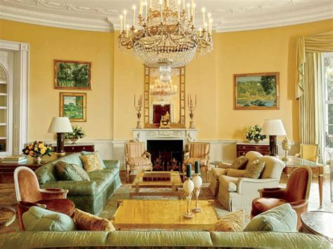 Inside A Living Room - inside the white house get a glimpse of the living