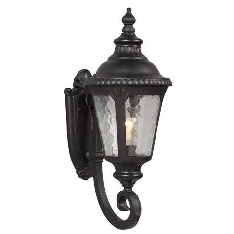 black outdoor wall lantern filament design negron 1 light outdoor black wall lantern