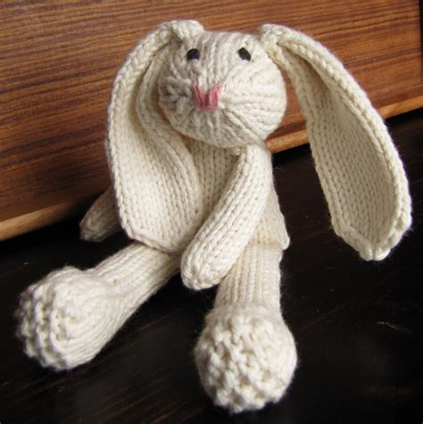 knitted rabbit top 10 easter animal patterns loveknitting
