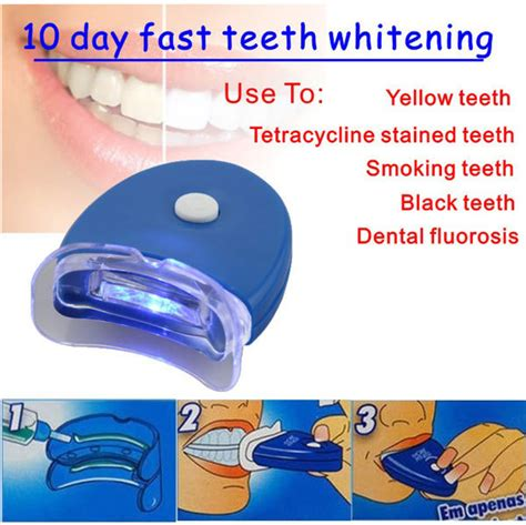 7 Reasons To Use At Home Whitening Kits by Cool White Led Light Professional Home Use Teeth Whitening