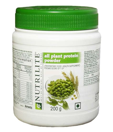 d protein powder price nutrilite amway all plant protein powder 200gm available