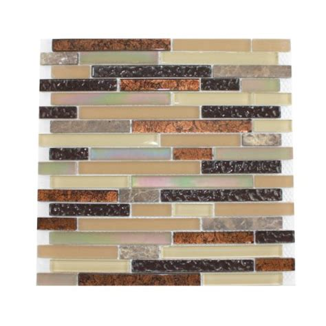 lowes glass tile backsplash lowes glass tile
