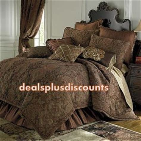 chris madden bedding chris madden bordeaux full comforter set new