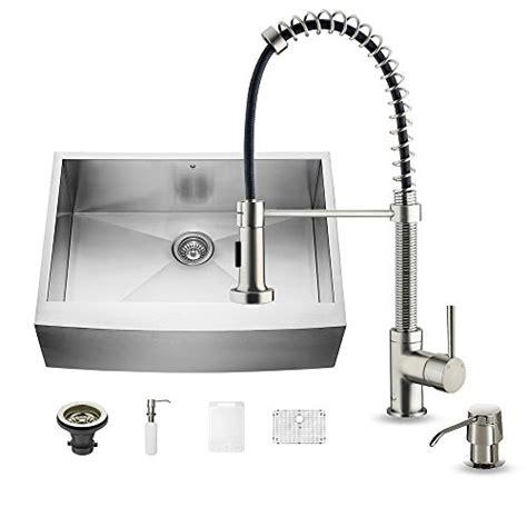 30 inch bowl apron sink vigo 30 inch farmhouse apron single bowl 16