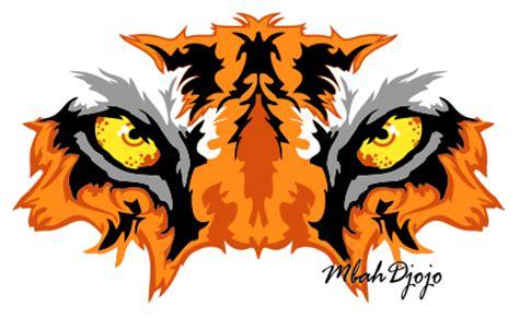 desain gambar harimau gambar animasi kepala macan sorgusuna uygun resimleri