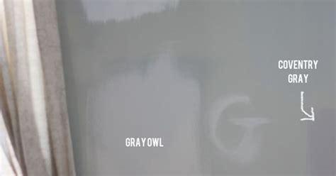 benjamin moore gray owl  stonington gray paint