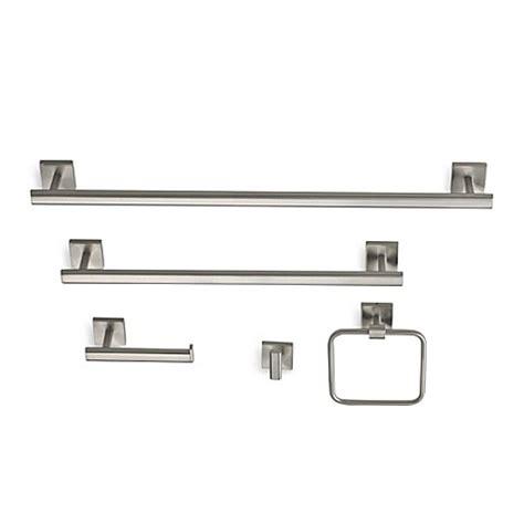 gatco bathroom gatco 174 elevate bath hardware in satin nickel bed bath beyond
