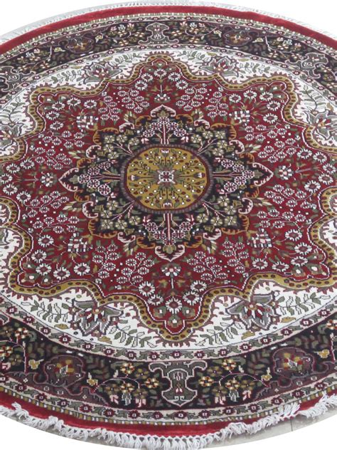 Circular Rugs For Sale by Rich Floral Design Rug For Sale Kashmir Silk