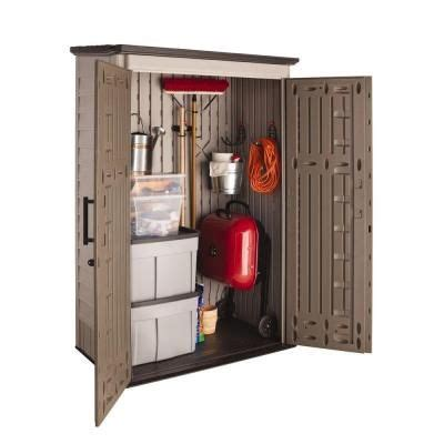 Rubbermaid 2 Ft X 2 Ft Vertical Storage Shed by Vinyl Garden Sheds Canada Woodwork Apprenticeship