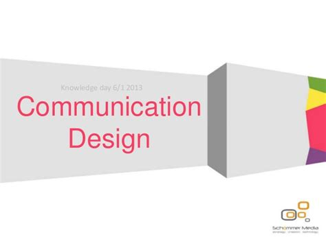 design is communication communication design