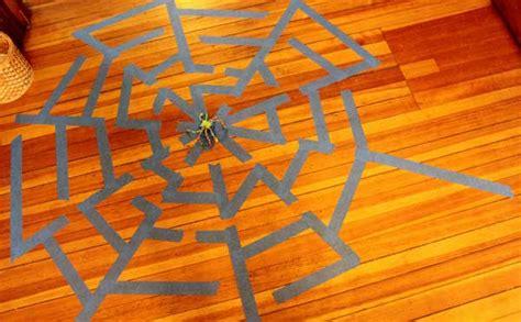 giant spider web maze  kids hands    grow