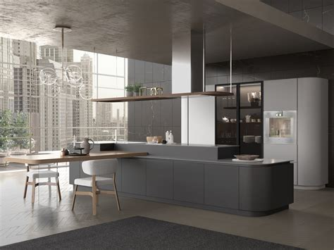 pedini cucine artika kitchen with island by pedini