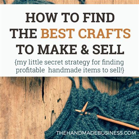 Best Website To Sell Handmade Items - 25 best ideas about selling handmade items on