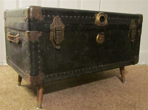 Furniture. Handmade Steamer Trunk Coffee Tables Featuring