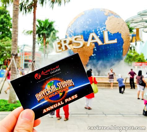 Theme Park Yearly Pass | entree kibbles universal studios singapore annual pass
