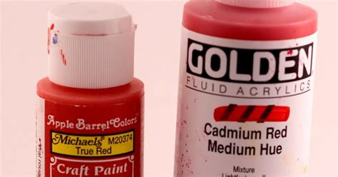 acrylic paint vs cathartic creativity craft vs artist acrylic paint
