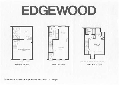 fairlington floor plans edgewood model floor plan fairlington historic district