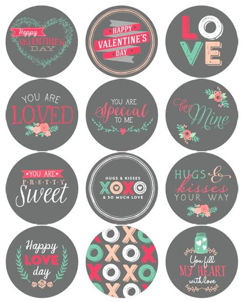 printable heart stickers free 2506 best images about free printables on pinterest