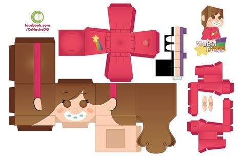 What Is Paper Craft - mabel pines papercraft by moomuu on deviantart