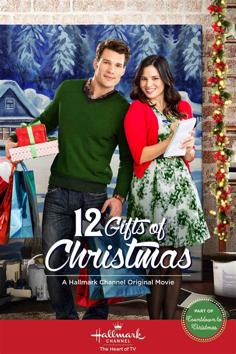 hallmark movies images 12 gifts of christmas poster hd