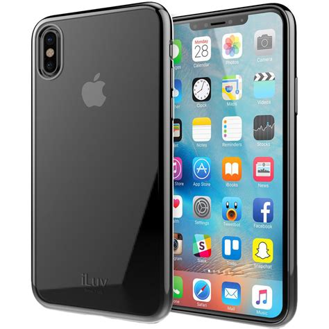 iluv metal care for iphone x xs black aixmtbk b h photo