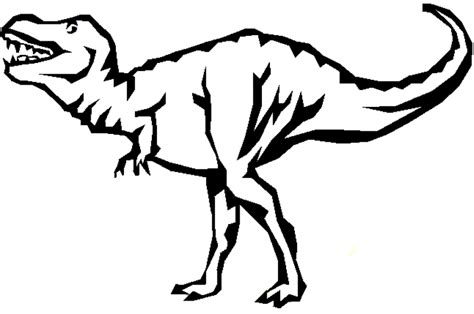t rex coloring pages coloring home
