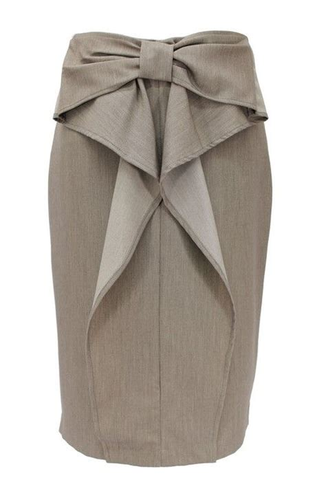 Bow Accent Pencil Skirt 1000 images about professional ladylike modest