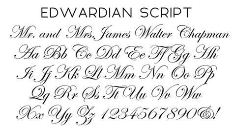 tattoo font generator edwardian script edwardian script font wedding ideas pinterest fonts