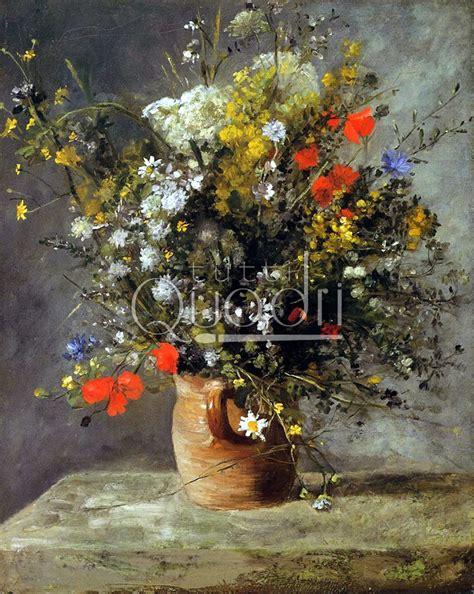 fiori impressionisti quot fiori in vaso 1866 quot di renoir fiori impressionisti copia