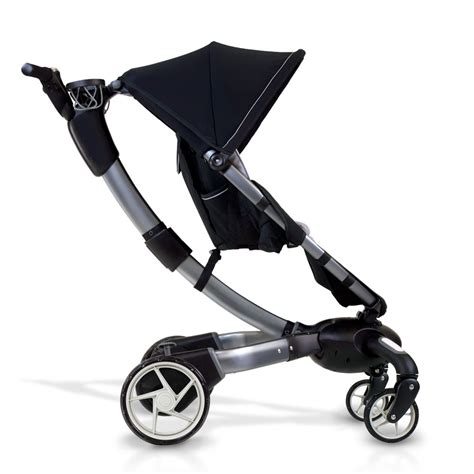 origami automatic power folding stroller the green