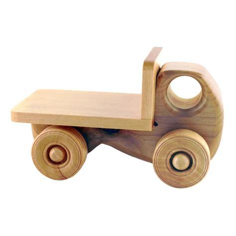 wooden toys humbert myrtlewood flatbed truck http shop 4