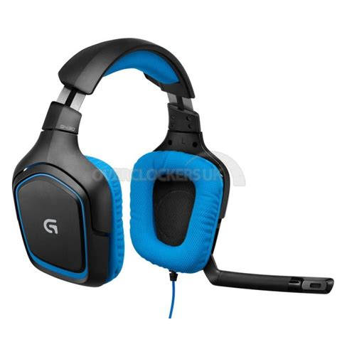 logitech g430 surround sound gaming headset ocuk