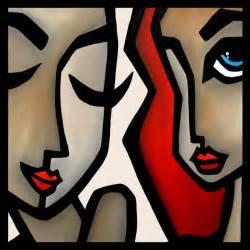 confide original abstract painting modern pop art