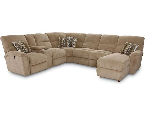 sofa sectional with recliner grand torino sectional sectionals lane furniture