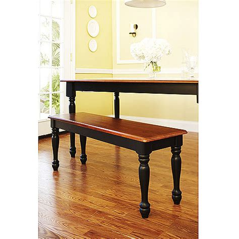 Better Homes And Gardens Autumn Lane Farmhouse Bench Walmart Com