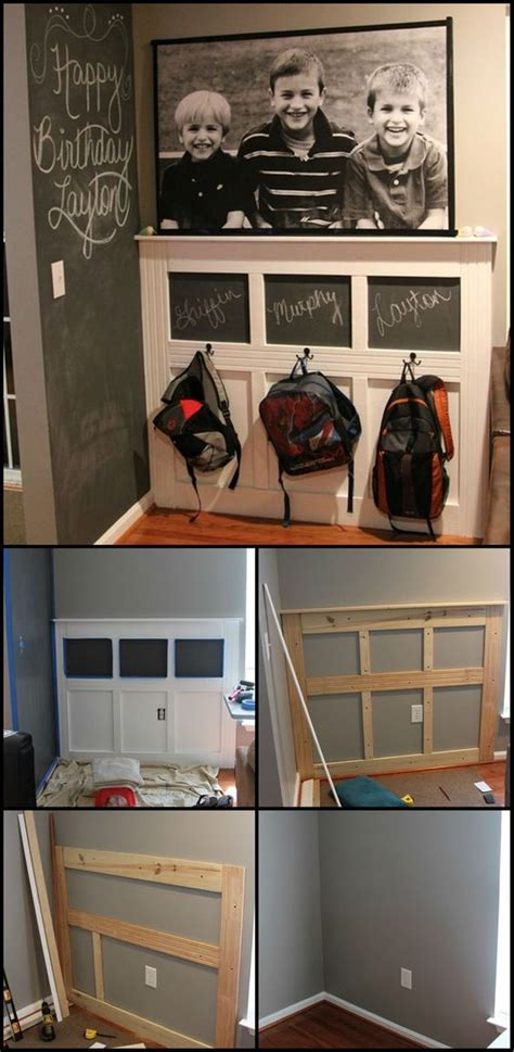 backpack storage solutions how to build a backpack station keeping the school stuff