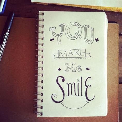 i doodle instagram you make me smile a doodle i did for a doodle a day