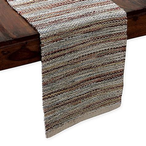 table runners bed bath and beyond mona lisa table runner in wine multi bed bath beyond