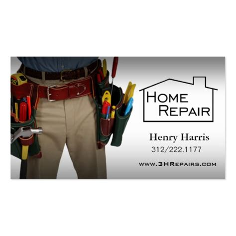 home repair handyman business card templates mahaveli home improvement tips and advice wisdom and