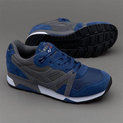 sepatu sneakers diadora n9000 nyl ii grey