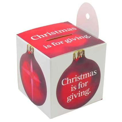 where can i donate xmas ornaments is for giving ornament donation box pkg of 50