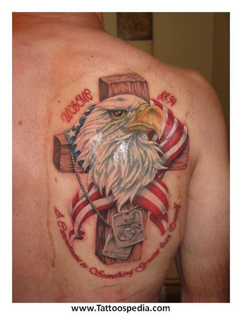 tattoo cross eagle cross eagle tattoos 4