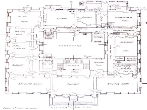 floor plans for a mansion beverly hillbillies house floor plan house design plans