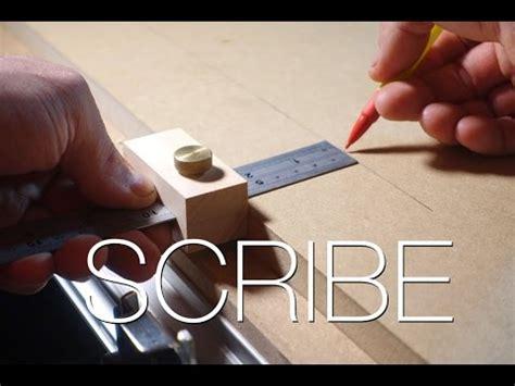 wood scribe marking tool youtube